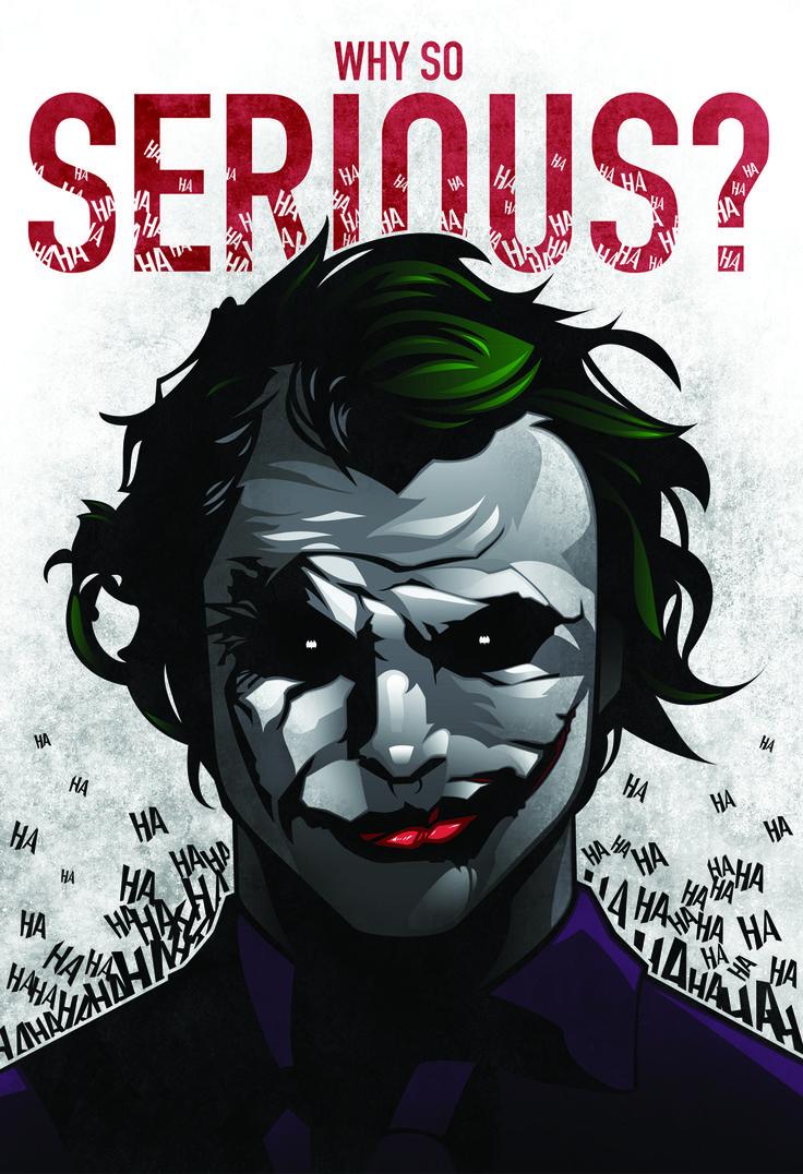 WHY SO SERIOUS?Why So Serious, Posters Prints, Dark Knightbatman, Geek Squad, Jokers Dark, Jokers Corner, Batman Bad, Geeky Awesome, Dark Knights