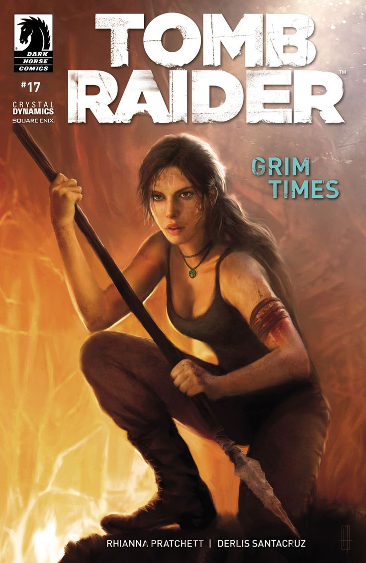 Tomb Raider Comic Cover
