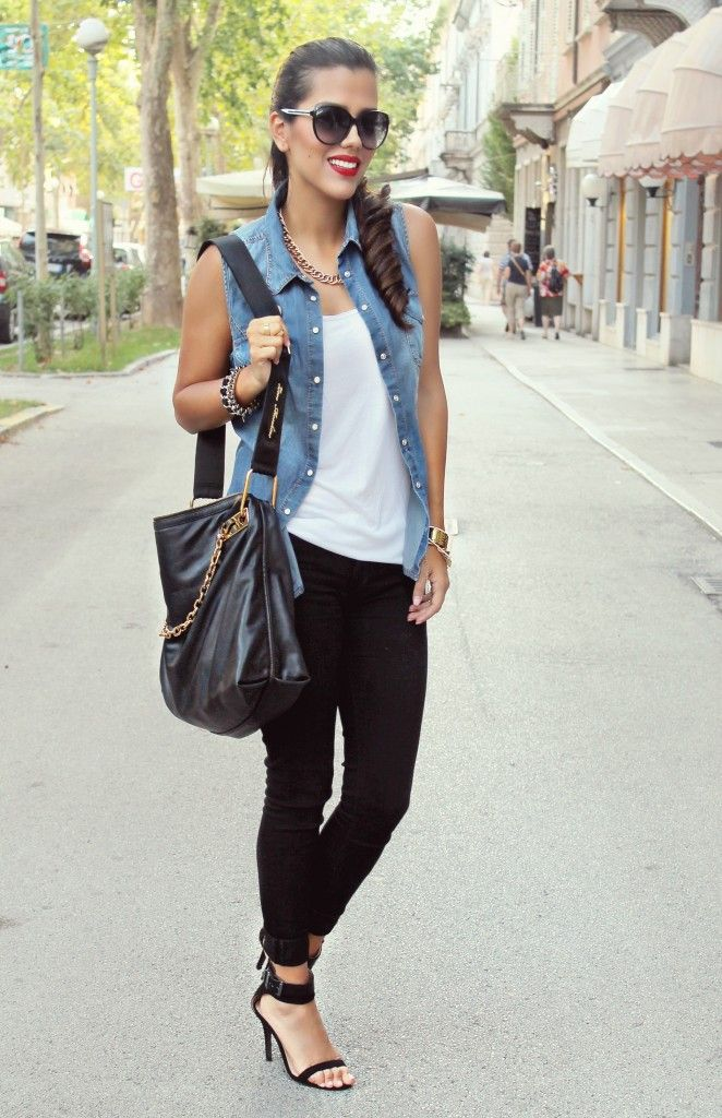 17+ best images about Denim Vest MyStyle ️ on Pinterest ...