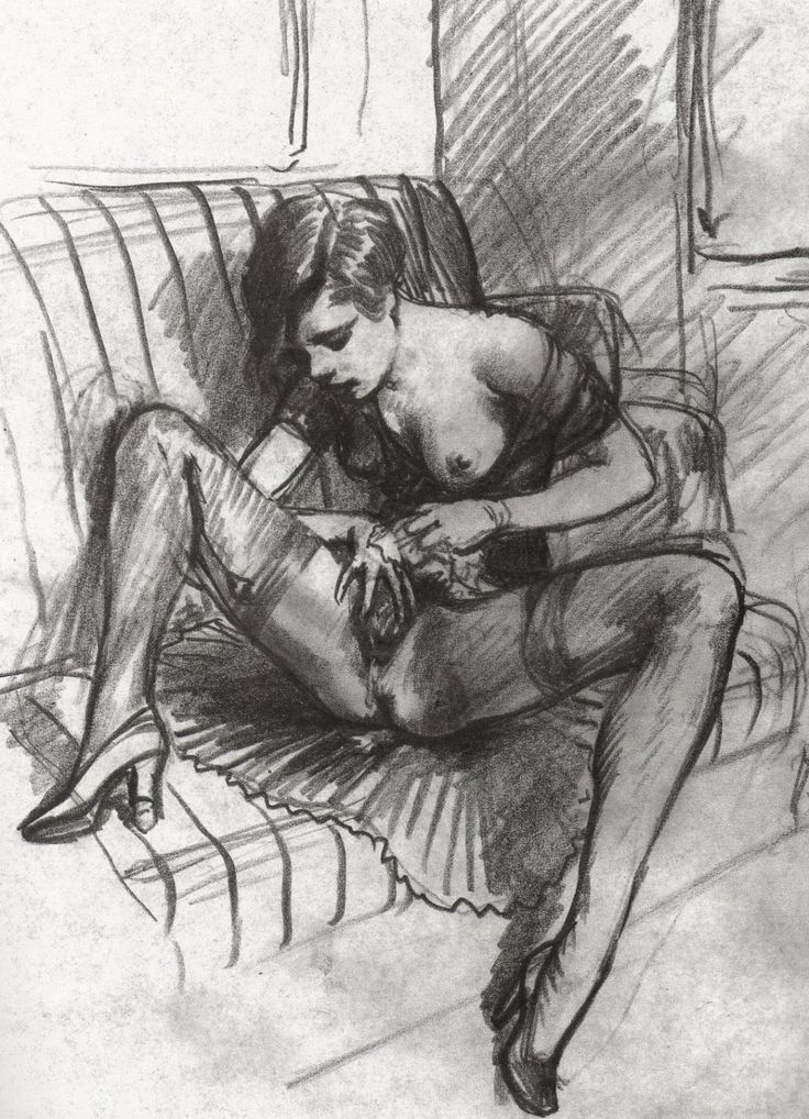 Drawing erotic sex
