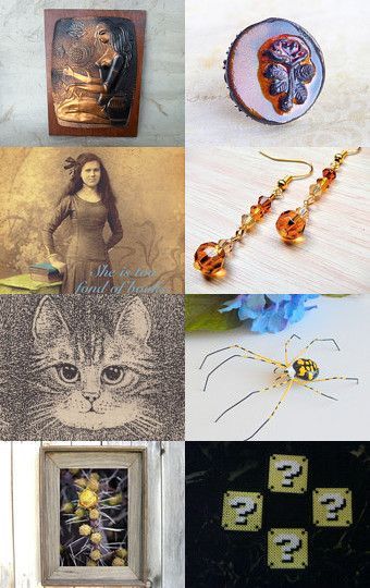 Autumn Bloom - Team 7 - 32 Treasury Round 37 ❤ by Ms Lockets on Etsy--Pinned with TreasuryPin.com