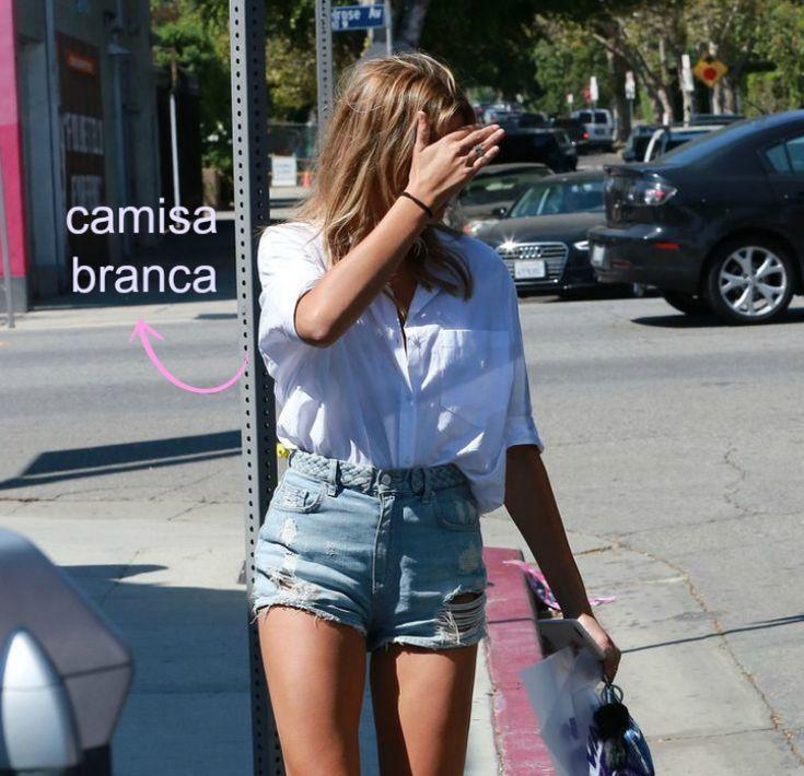 Como usar short jeans cintura alta 12