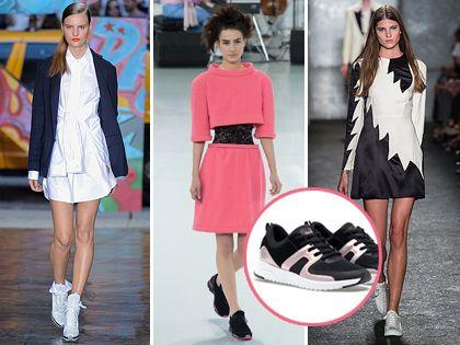 Sportcipőt szoknyához? Igen! http://www.nlcafe.hu/oltozkodjunk/20140429/sportcipo-szoknya-trend/
