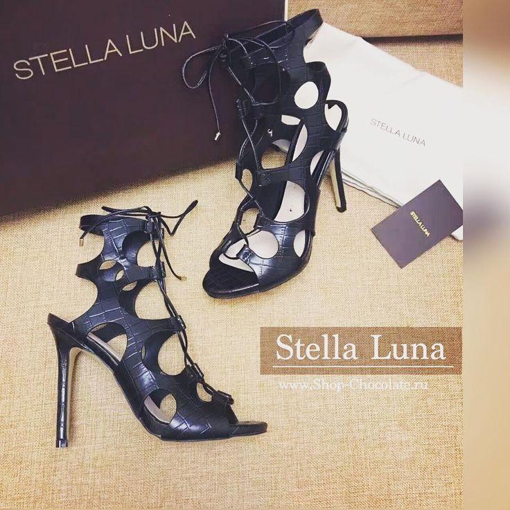 ☀️☀️☀️НОВИНКА Лето-2016 ◽️Босоножки женские Stella Luna ◽️Size: 34-39 ◽️копия: 1:1 ◽️цвет: черный/белый ◽️высота каблука 11 см. ◽️кожа натуральная ◽️фирменная упаковка✔️ ◽️Цена: 7800₽ ___________________________________________ Полный каталог обуви вы найдёте на наших сайтах www.shop-chocolate.ru www.BrandChoco.com Мы поможем с подбором размера именно для вас ______________________________________ Как сделать заказ? +7-914-5-38-24-38 Наталья WhatsApp +7-914-5-38-92-20 Артем Vib...