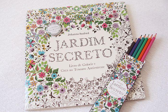 Coloring Books Colouring Secret Gardens Pencil Johanna Basford Garden Enchanted Forest Maryland Book Chance Forests Livros