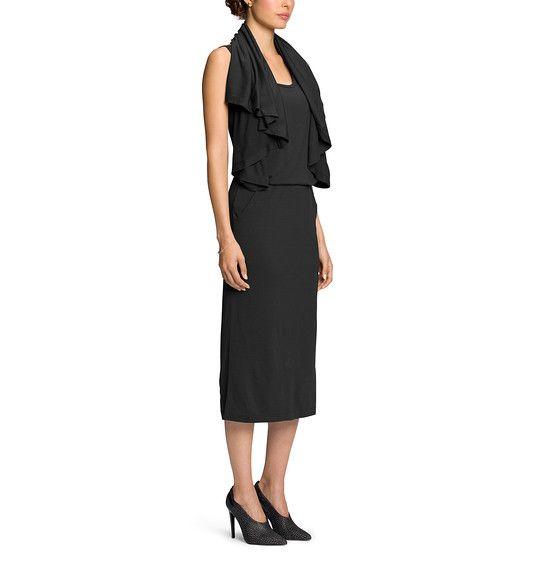 Luxurious, midweight Merino wool dress