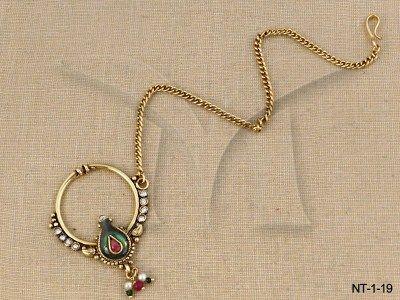 NT-1-19 || Beautiful Wear Nath Jewellery
