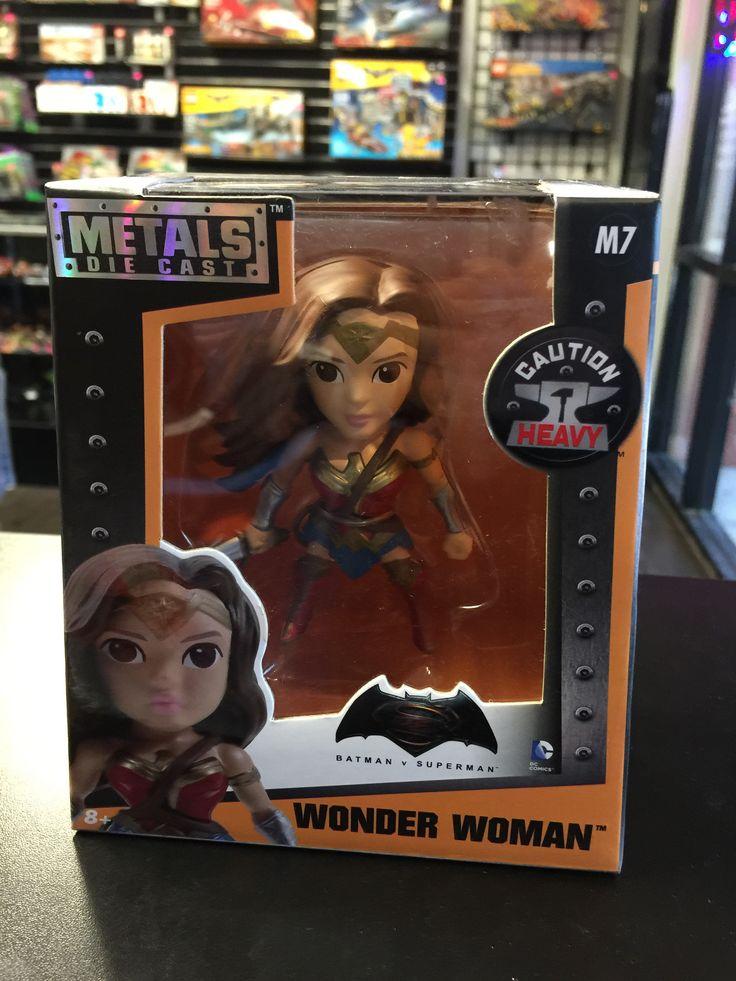 DC Batman Vs Superman Metals Doe-Cast Winder Woman