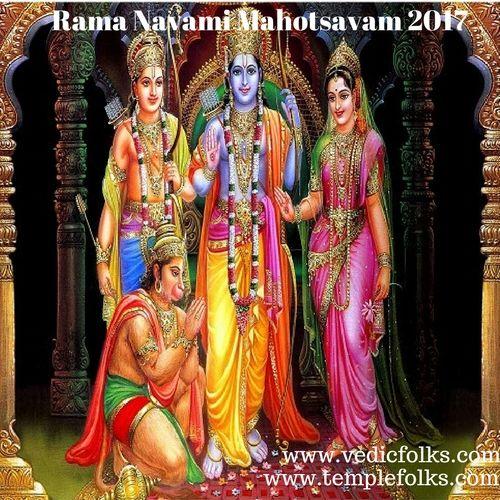 Rama Navami Mahotsavam helps to removes financial crisis and hardships.It brings good luck and wealth.