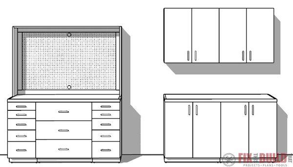 Ftbt Modular Garage Cabinets