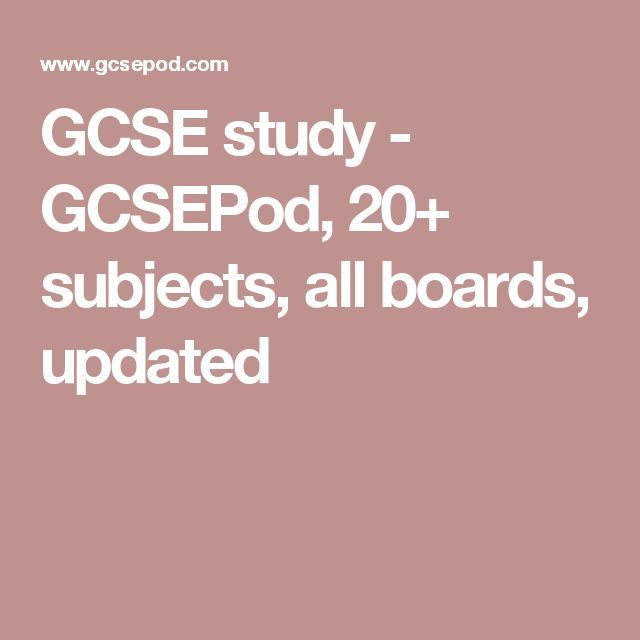 GCSE study - GCSEPod, 20+ subjects, all boards, updated    || Ideas, activities and revision resources for teaching GCSE English || For more ideas please visit my website: www.gcse-english.com ||