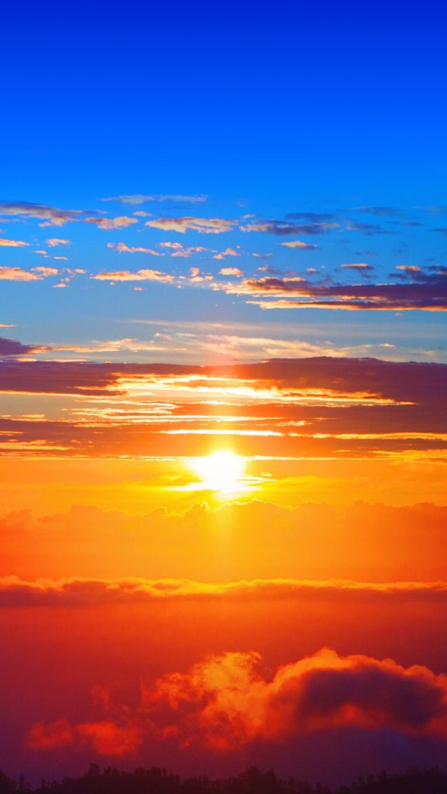Wonderful Sunset #iPhone #5s #Wallpaper