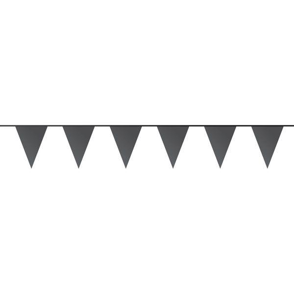 Slinger - Vlaggenlijn buiten - Zwart