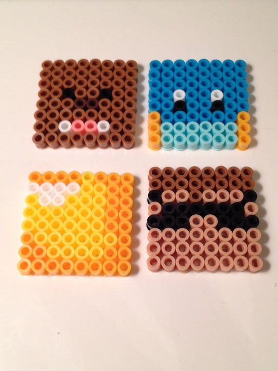 Minecraft Team Crafted Perler Beads by NerdChristmas
