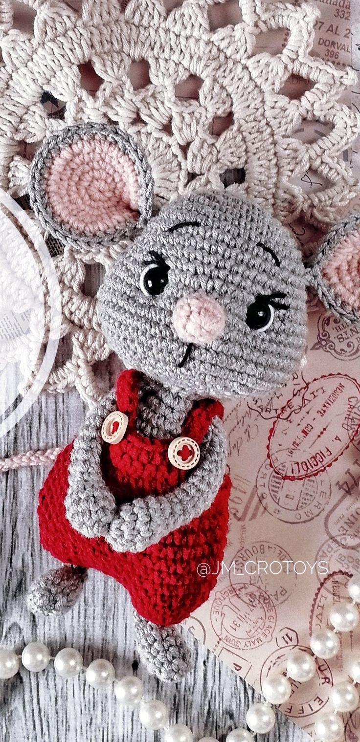 PDF Мышонок Веня крючком. FREE crochet pattern; Аmigurumi doll patterns. Амигуруми схемы на русском. – häkeln