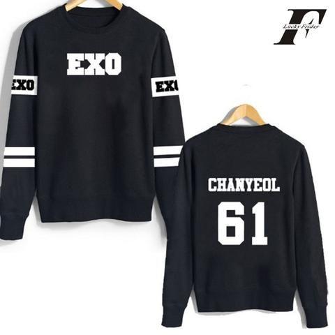KPOP EXO Sehun Cap Hoodie Sweater Merchandise Sweatershirt Pullover Coat Outwear