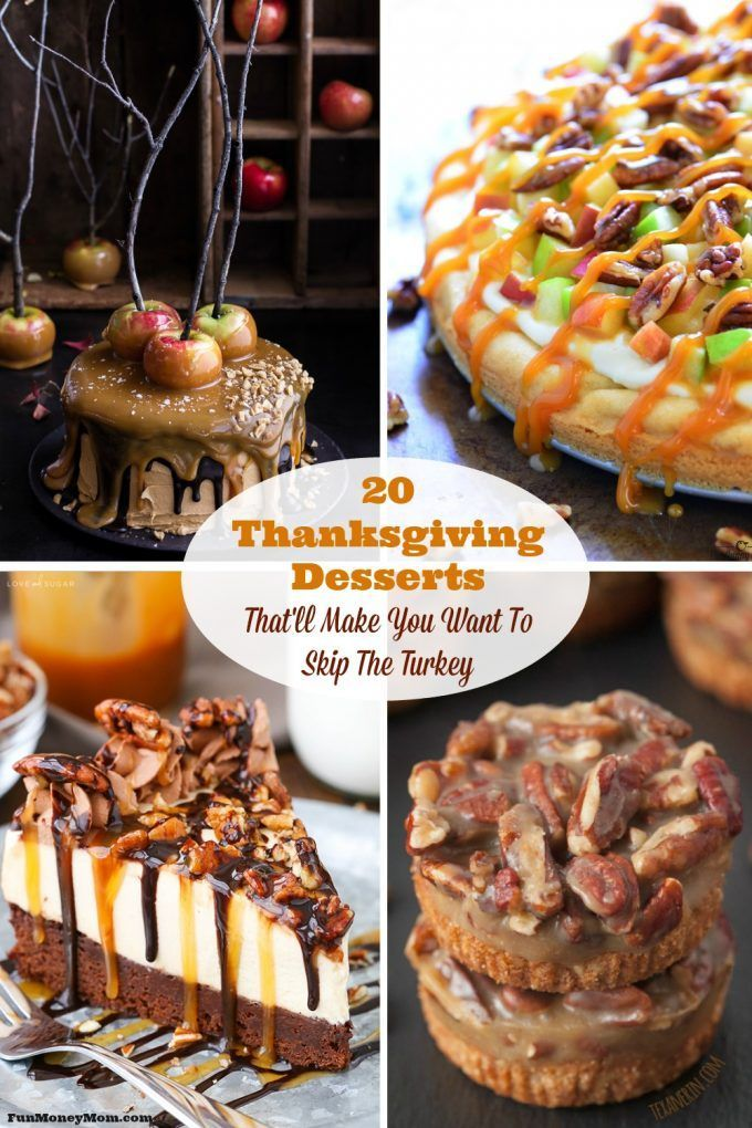 Are you hosting Thanksgiving dinner this year? You may have a hard time deciding which of these mouthwatering Thanksgiving desserts to serve!