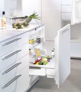 Kitchen Pull Out Fridge Drawers