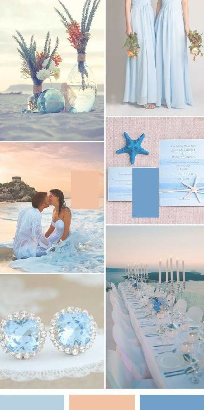 100 Most Elegant Beach Wedding Ideas Blue And Coral Weddings
