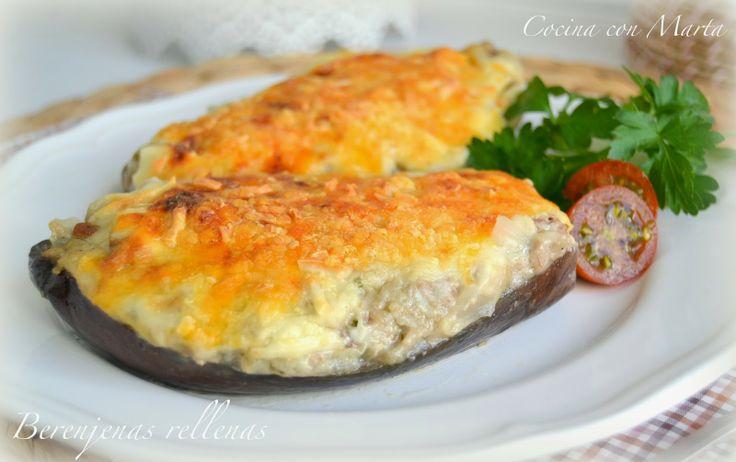 berenjenas rellenas cocina con marta recetas f ciles