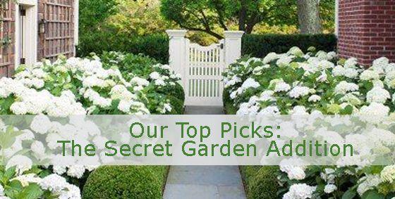 Our Top Picks | The Secret #Garden Addition