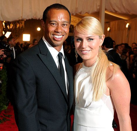 Tiger Woods and Linsey Vonn, Woods the Greatest of All Time