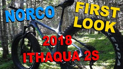 First Look   2018 Norco Ithaqua 2S ~ Fatbike Republic