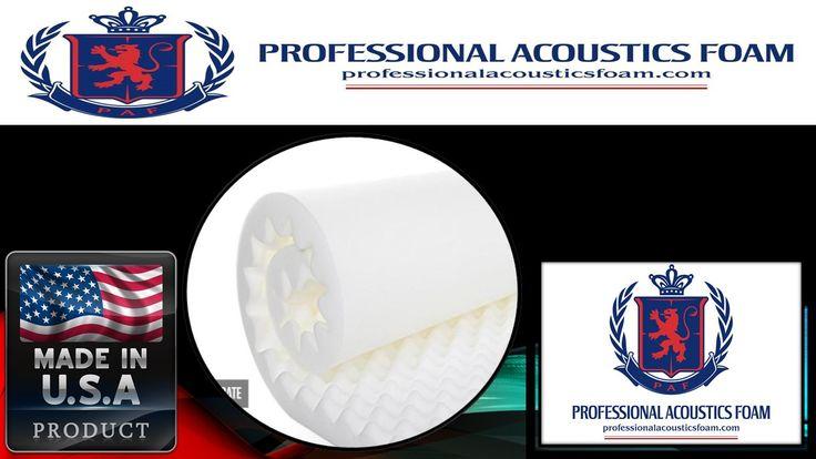 "Professional Acoustic Foam 2-1/2"" X 24"" X 18"" Ul 94 White"