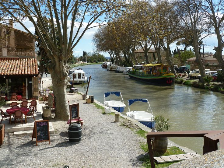 The Canal du Midi - one of the great attractions of Languedoc