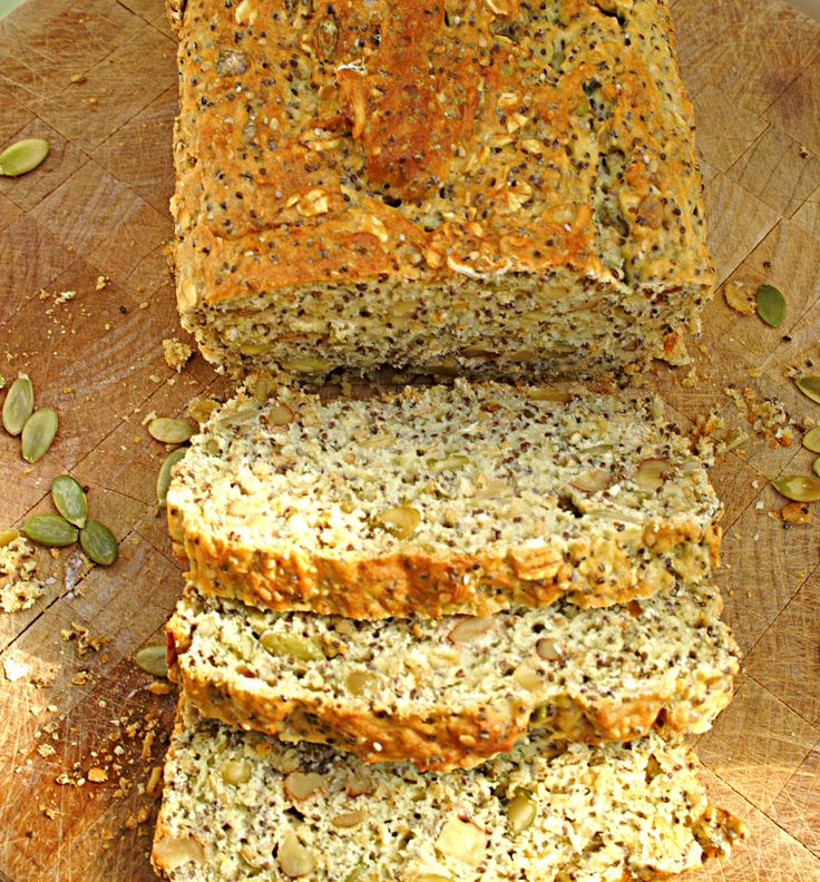 Gluten Free Chia and Nut Bread