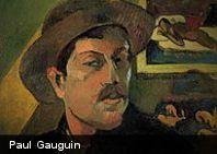 Paul Gauguin fue un pintor postimpresionista francés, cuyos colores exuberantes, formas bidimensionales planas y...