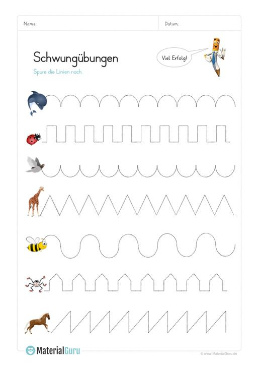 schwungbungen vorschule schwungbungen kindergarten. Black Bedroom Furniture Sets. Home Design Ideas