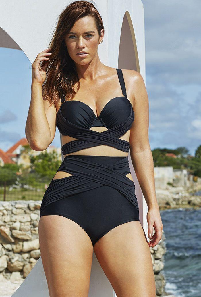 bfd013b2911e35cb424a1b3ca9901556 high waist swimsuit bikini swimsuit 119 best plus size underwire swimwear images on pinterest,F Cup Swimwear Plus Size