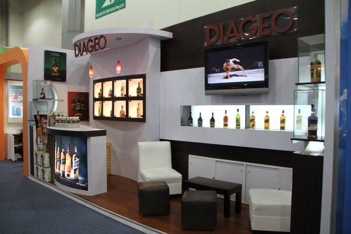 Stand para Diageo