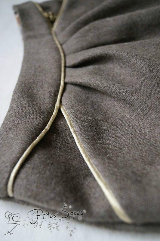 Jupe MINI-PERLE, version A, patrons de couture Ivanne.S, by Ptites Sapes Idée côté t-shirt