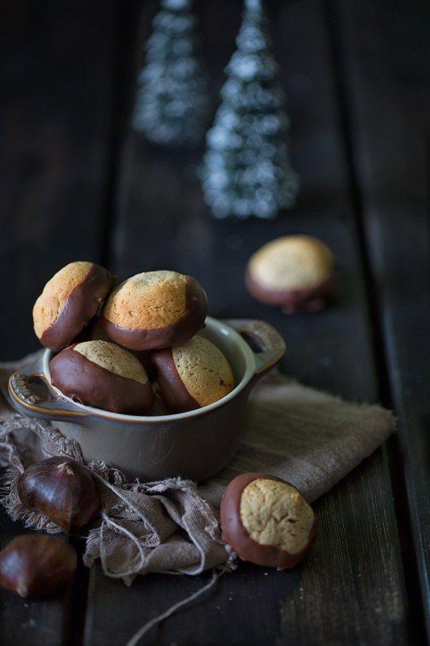 Chestnut Cookies Maronen-Kekse