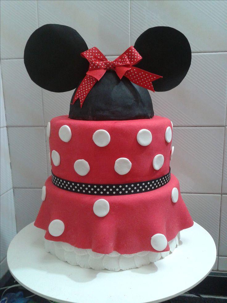 #MinnieCake Torta Minnie Cake Bolo