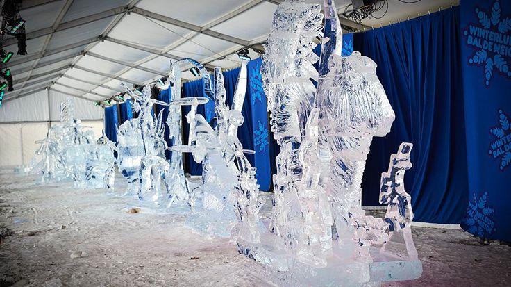 Winterlude sculptures courtesy of Ottawa Tourism