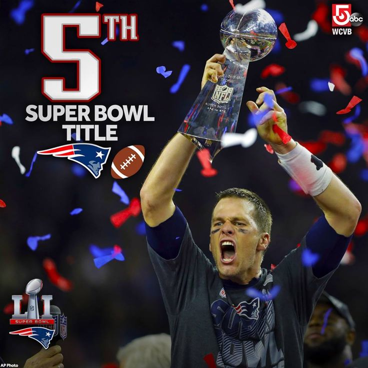 GREATEST OF ALL TIME: Tom Brady has won the most Super Bowls of any quarterback in NFL history. Truly the G.O.A.T. ❤❤❤