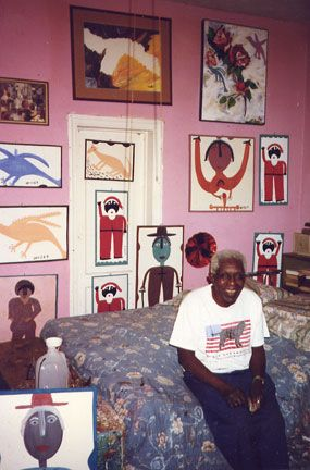 Mose Tolliver, Folk Painter of Outsider Art