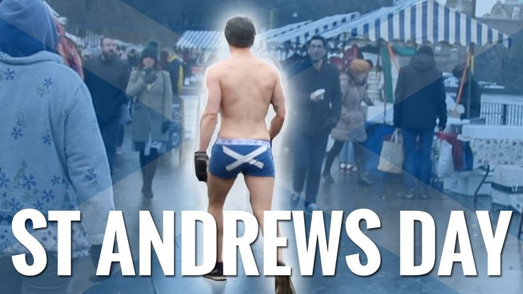 Getting Naked In Public To Celebrate St Andrews Day In Scotland https://youtu.be/14x05F8ISDg