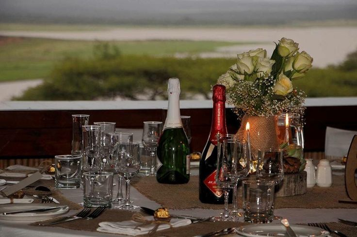 Wedding with a view, Pongola Game Reserve, South Africa