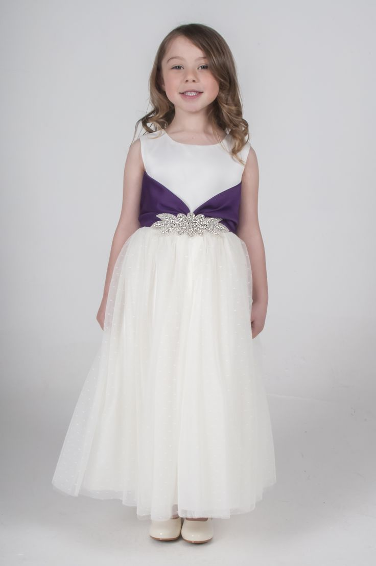 86 best our dresses images on pinterest dress girl girls purple diamante flower girl bridesmaid dress available in other colours please see our website ombrellifo Image collections