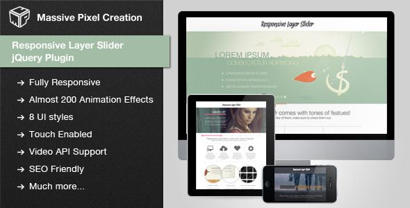 awesome Responsive Layer Slider jQuery Plugin
