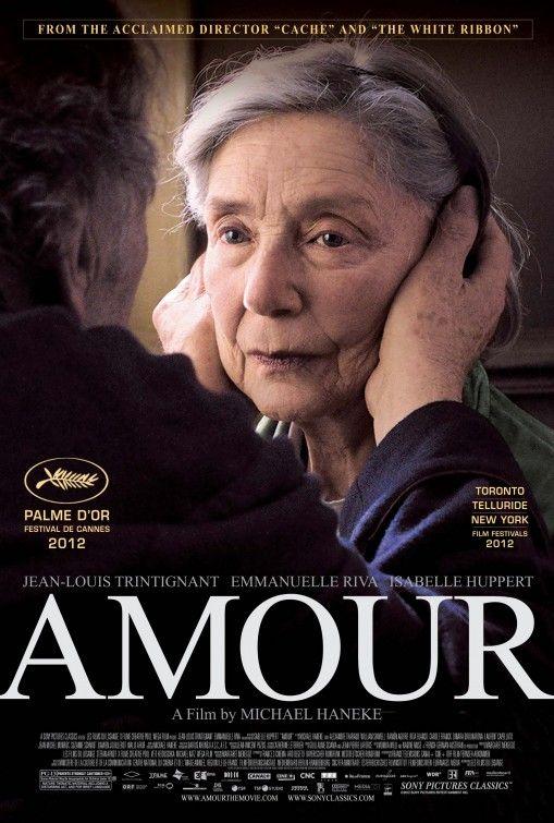 Amour (2012) ✩✩✩✩ – Michael Haneke avec Jean-Louis Trintignant, Emmanuelle Riva, Isabelle Huppert, Laurent Capelluto...