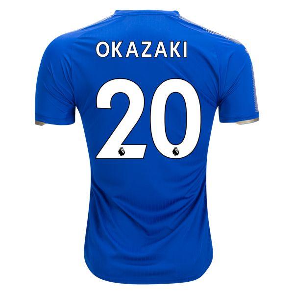 PUMA Shinji Okazaki Leicester City Home Jersey 17/18
