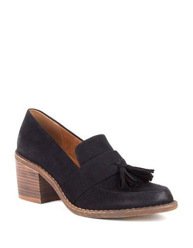 Shoes   Mid Heels   Radiate Tasseled Loafers   Hudson's Bay