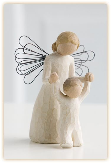 """Guardian Angel""-Willow Tree Angel"