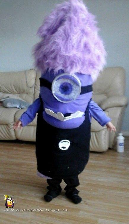 Easy Evil Purple Minion Costume...