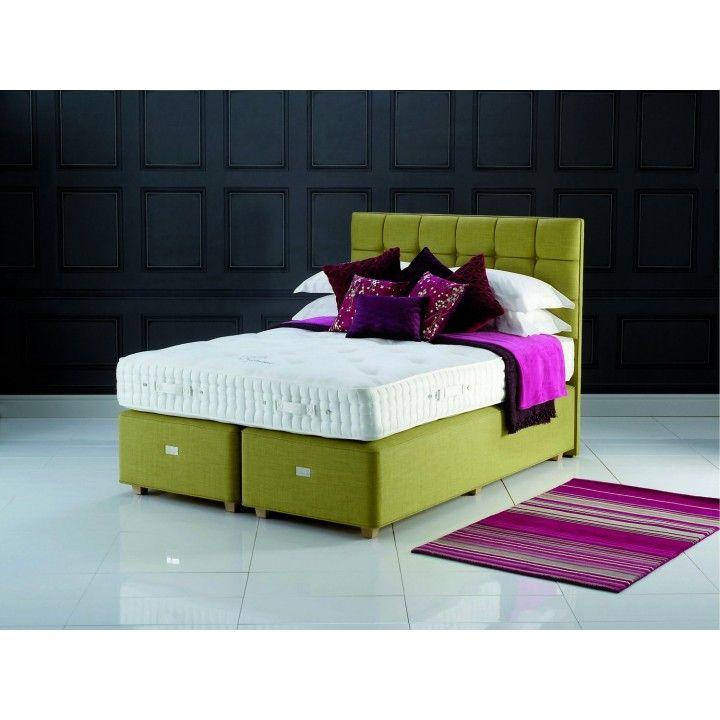 hypnos regency hampton supreme super king size zip u0026 link divan bed for